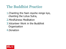 chanting nam myoho renge kyo why it works the buddhist coping experience of breast cancer survivors ppt