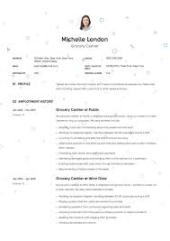 12 Grocery Cashier Resume Sample S 2018 Free Downloads