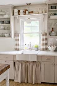 sweet looking rustic kitchen curtains designs