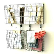 grid wall hanging wire grid wall organizer fashionable design metal together