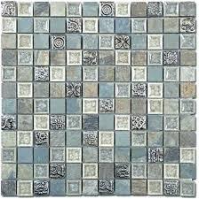 glazzio tile tile mirage ts tranquil series methodical grey mosaic tile tile cloud series