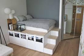ikea platform bed with storage. Brilliant Platform IKEA Platform Bedroom Hack To Ikea Platform Bed With Storage W