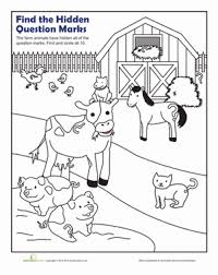 Punctuation marks punctuation marks are symbols that are used to aid the clarity and comprehension of written language. Question Mark Worksheet Education Com This Or That Questions Question Mark Coloring Pages