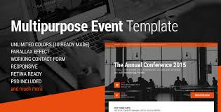 Event Website Template Unique Event Conference Event HTML28 Landing Page By Magethemes