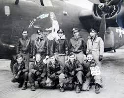 Herb May of Port Charlotte Fla. flew as tail gunner in B 24.