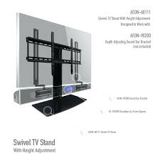 tabletop tv stand universal tabletop stand with swivel and height adjule item ob aeon condition open tabletop tv stand