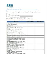 Time Budget Template 12 Operating Budget Templates Word Pdf Excel Free