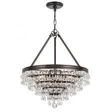 calypso teardrop medium chandelier