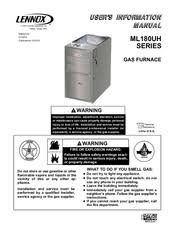 lennox ml180uh. lennox ml180uh series user\u0027s information manual ml180uh m