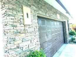 fake rock wall how stone panels for interior walls
