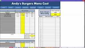 Menu Spreadsheet Template Menu Excel Template Rome Fontanacountryinn Com