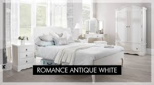Top vintage white bedroom furniture Bed Romance Antique White ...