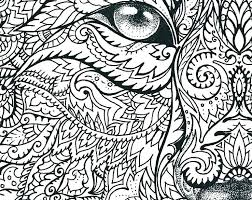 Wolf With Scary Face Coloring Page Free Printable Coloring Pages