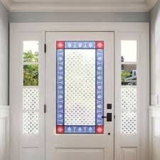exterior door stickers. stained glass window film \u0026 stickers exterior door f