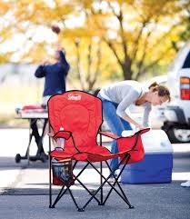 Amazon.com : Coleman Cooler Quad Portable Camping Chair, Black ...