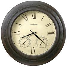 24 outdoor clocks miller copper harbor large wall clock outdoor clocks acurite 24 inch outdoor clock