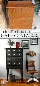 furniture upcycling ideas. Card Catalog From Child\u0027s Chest Of Drawers Furniture Upcycling Ideas O