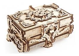 Купить 3D-<b>конструктор Ugears</b> Антикварная <b>шкатулка</b> в интернет ...