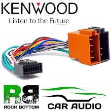 kenwood kdc dpx krc car radio stereo 16 pin wiring harness loom iso kenwood kdc dpx krc car radio stereo 16 pin wiring harness loom iso lead adaptor