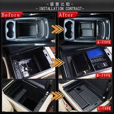 alphard 30 system vellfire 30 system large size center console console box tray custom inside of
