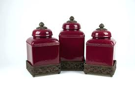 red kitchen canisters set red canister set set of gracious goods red canisters red kitchen canister red kitchen canisters set