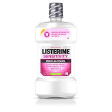Sensitivity Alcohol Free Sensitive Teeth Mouthwash Listerine