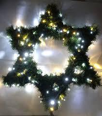 Christmas Lights Star Of David Amazon Com Huge Star Of David Tree Topper Handmade