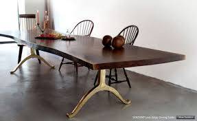 living edge furniture rental. SENTIENT Live Edge Dining Table Living Furniture Rental