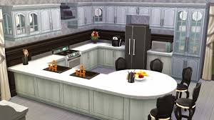 sims 4 kitchen design. sanjana sims blacku0026white kitchen 4 design d