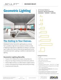 Axis Lighting Bmrled Axis F2 10 Fixtures Pages 1 12 Text Version Fliphtml5