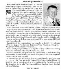 Louis Joseph Mueller jr. onw 25mar2018 - Newspapers.com