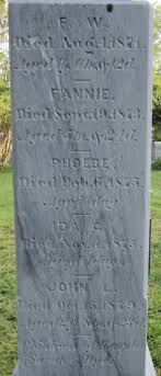 Fannie Dye (1873-1873) - Find A Grave Memorial