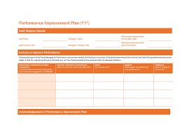 Performance Improvement Plan Definition Best 48 Performance Improvement Plan Templates Examples