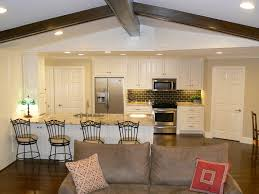 open concept kitchen living room designs small plan and with ideas house plans not contemporary design