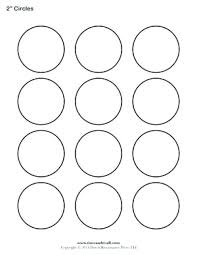 Macaron Guide Sheet Macaron Circle Template