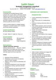 team leader cv examples graduate management consultant cv sample team leader cv writing