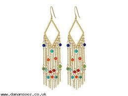 lauren ralph lauren hn21d9d5 clearance ping websites pop style fringe chandelier earrings