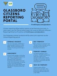 Glassboro Residents Now Have The Ability To Report Certain