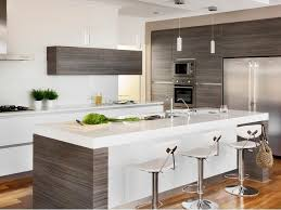 White Kitchen Wood Floors White Kitchen With Wood Flooring Great Home Design