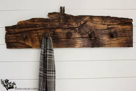 How To Make A Coat Rack With Railroad Spikes Railroad Spike Wall Hook Rack The Wood Grain Cottage 4
