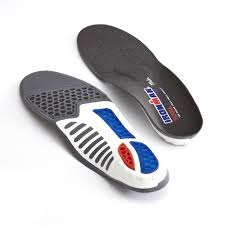 Ironman Total Support Thin Insoles Arch Support Advanced Orthotics Shock Absorbing Shoe Inserts