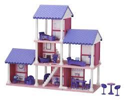 Amazon.com: American Plastic Toys Fashion Doll Delightful Dollhouse: Toys &  Games