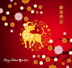 Presenting chinese new year cards 2021 (year of the ox) app. Red Chinese New Year 2021 Greeting With Ox Download Free Vectors Clipart Graphics Vector Art
