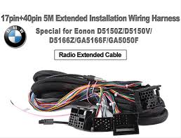 a0573 17pin 40pin 5m extended installation wiring harness a0573 17pin 40pin 5m extended installation wiring harness special for bmw e46 e39 e53