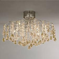 john lewis mini callisto semi flush ceiling light chrome 195 00