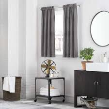 kenneth cole reaction home mineral window curtain tier pair