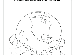 Creation Coloring Sheets For Preschoolers Jafevopusitop