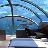 hydropolis underwater resort hotel. Undersea Resorts, Poseidon, Fiji. Poseidon Resort/ Photo: Hotel Hydropolis Underwater Resort