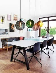 contemporary dining room lighting ideas kitchen sets table chandelier modern