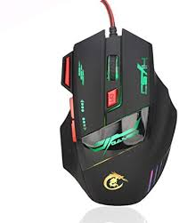 5500DPI Gaming Mouse Mice for Pc <b>PRO Gamers</b> 7 Button LED ...